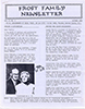 Frost Newsletter Vol 2 No 1 Oct 1989