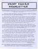 Frost Newsletter Vol 2 No 3 Apr 1990