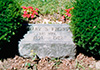Mary Shuttleworth Frost headstone