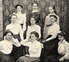 Young Ladies of Pigeon, Pa.